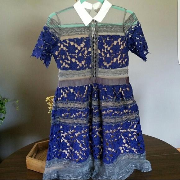 Zara Dresses & Skirts - SELF PORTRAIT STYLE LACE DRESS